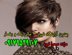 آرایشگاه هاشور، میکروبلدینگ فیبروز، انواع کوتاهی مو ژورنالی در شیراز