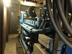 اجاره ژنراتور گازسوز 2 مگا وات نیروگاهی
