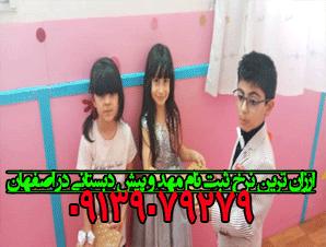 ارزان ترین نرخ ثبت نام مهد و پیش دبستانی در اصفهان
