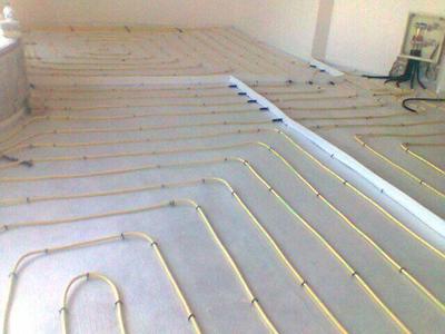 انجام سیستم حرارتی گرمایش از کف در اصفهان