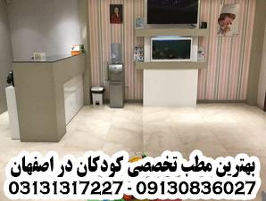 بهترین مطب تخصصی کودکان در اصفهان