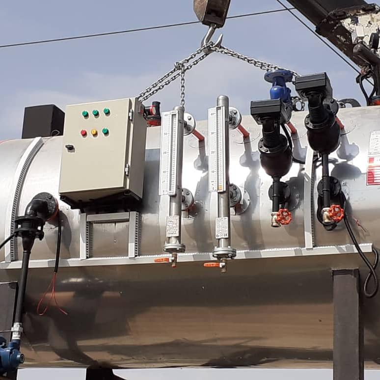 تولید دیگ بخار و تمامی مخازن تحت فشار