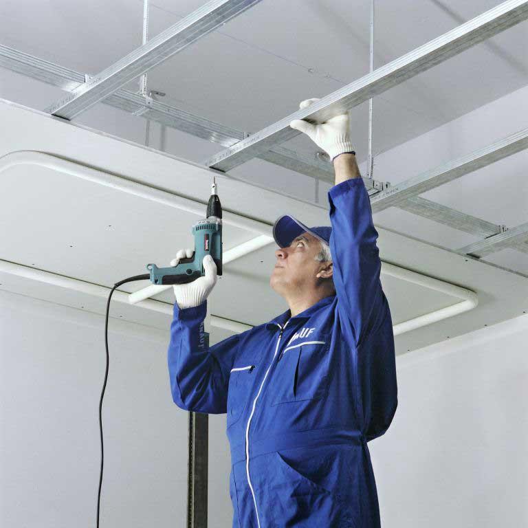 تولید سازه برای زیرسازی سقف کاذب