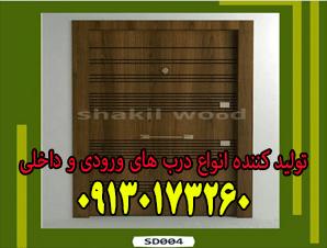 تولید کننده انواع درب های ورودی و داخلی در اصفهان