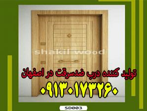تولید کننده درب ضدسرقت در اصفهان