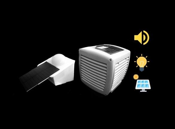دستگاه خورشیدی دفع کننده حیوانات و پرندگان