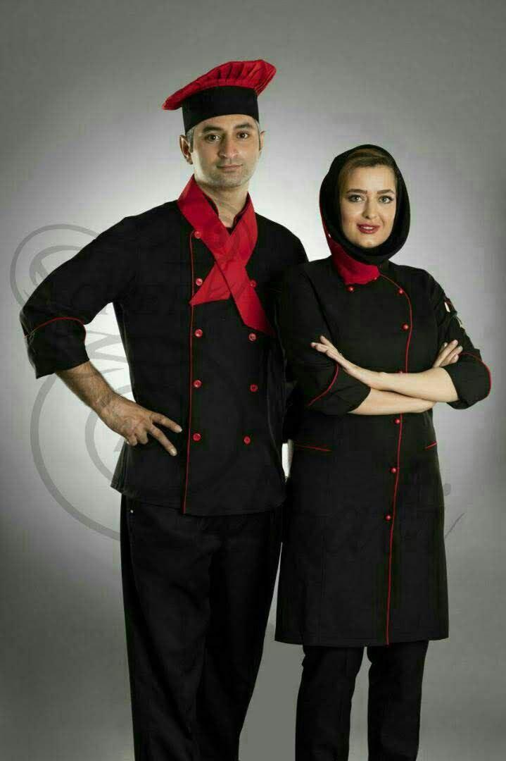 روپوش رستورانی ،لباس کار مشاغل توکا
