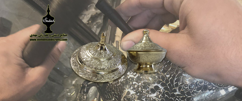 صادرات صنایع دستی قلم زنی ایرانی