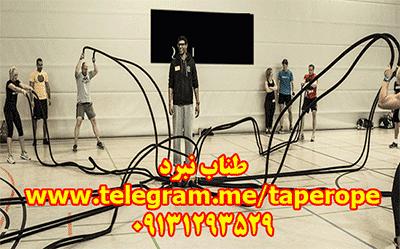 طناب بتل روپ - battlerope - طناب نبرد