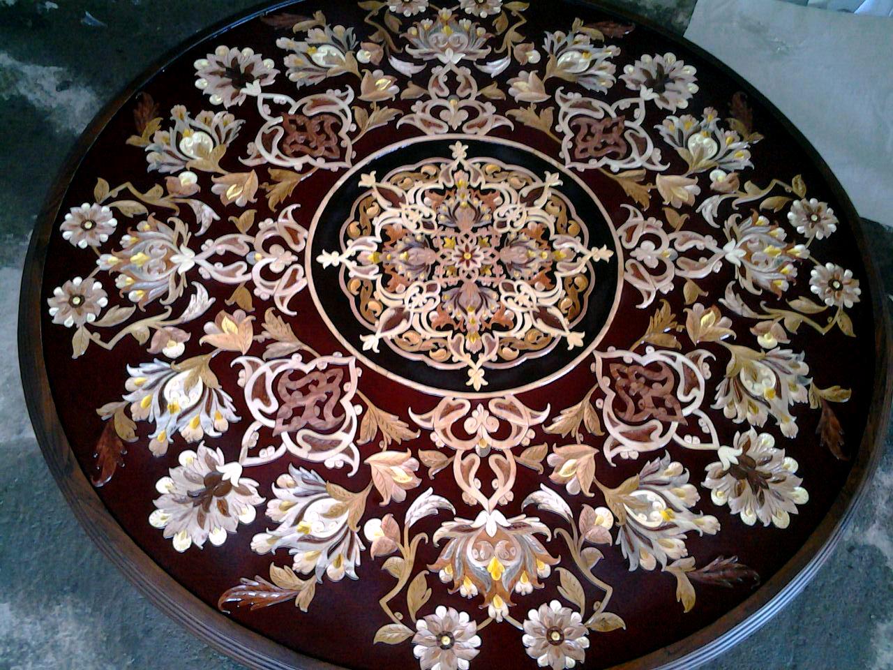 فروشگاه صنایع دستی هزاردستان  معرق  منبت ققنوس