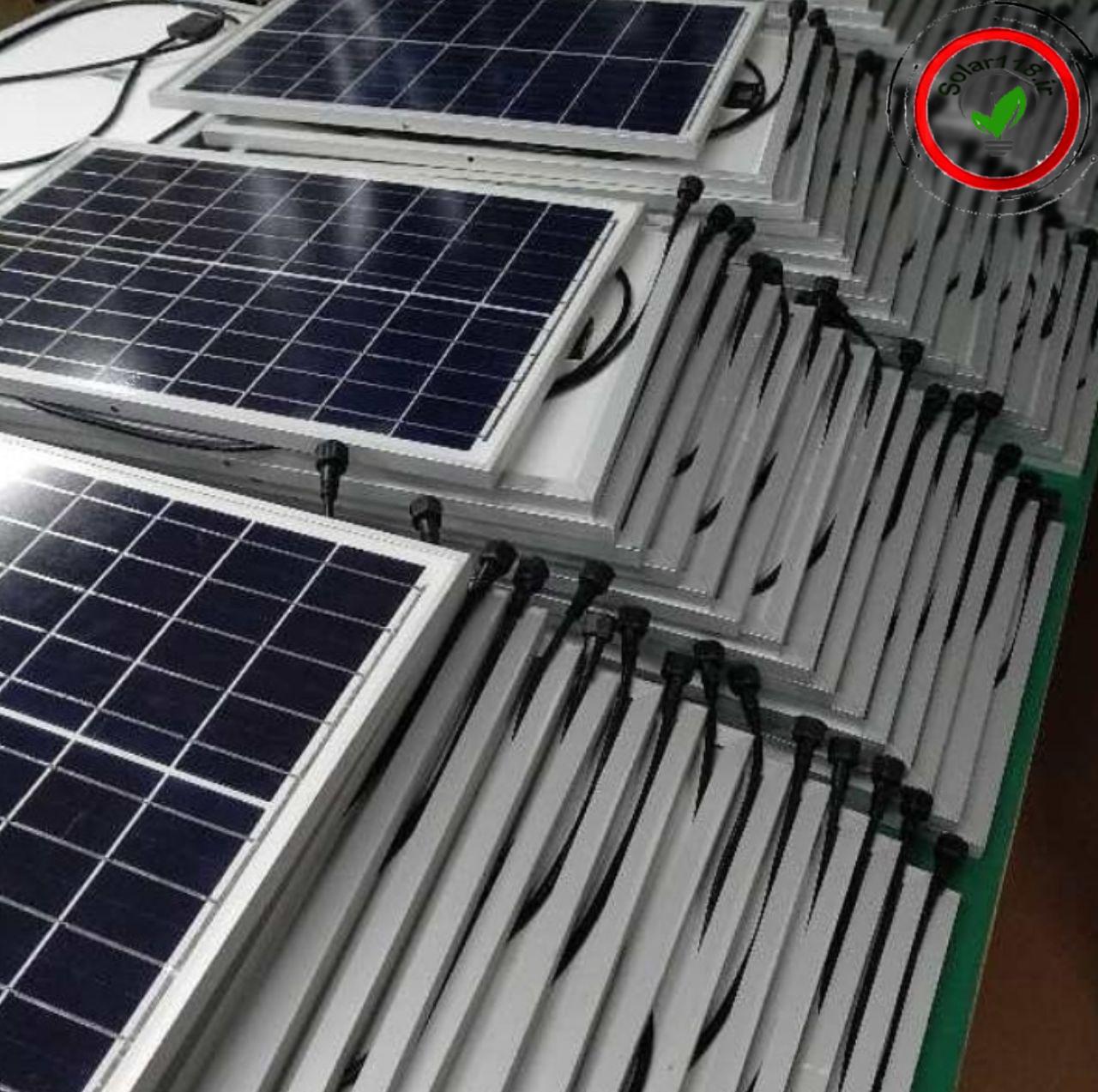 فروش انواع پنل های خورشیدی مونو و پلی کریستال