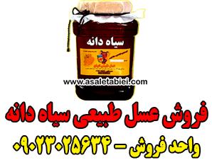 فروش عسل طبیعی سیاه دانه