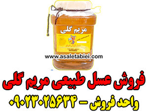 فروش عسل طبیعی مریم گلی