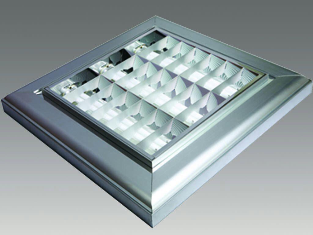 فروش چراغهای اداری و صنعتی و لوازم برقی