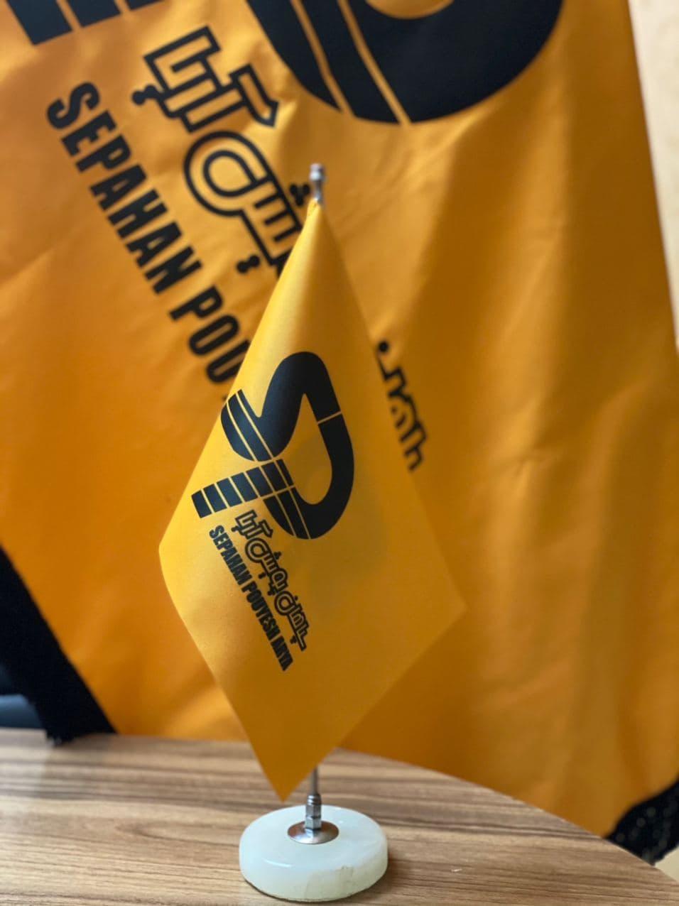 چاپ پرچم رومیزی تبلیغاتی