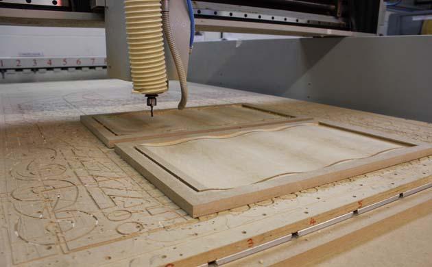 چوب wood cnc